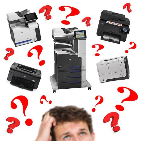 jak vybrat správnou tiskárnu?